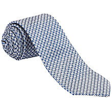 Buy Ted Baker Geojee Patterened Tie, Pink Online at johnlewis.com