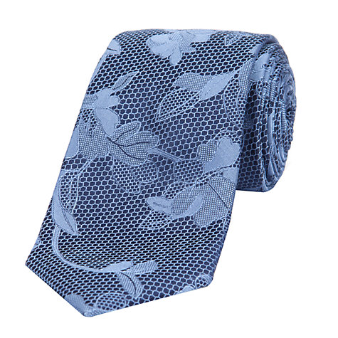 Buy Ted Baker Netflow Floral Tie Online at johnlewis.com