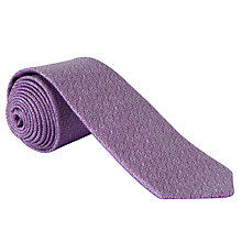 Buy Ted Baker Plainty Tie, Purple Online at johnlewis.com