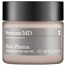 Buy Perricone MD Photo Plasma SPF 30 Anti-Ageing Moisturiser, 59ml Online at johnlewis.com