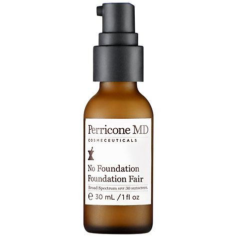 Buy Perricone MD No Foundation Foundation, Fair, 30ml Online at johnlewis.com