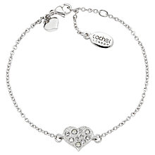 Buy Cachet London Classic Heart  Swarovski Crystal Bracelet Online at johnlewis.com