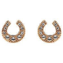 Buy Cachet London Horse Shoe Swarovski Crystals Stud Earrings Online at johnlewis.com