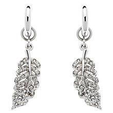Buy Cachet London Peacock Swarovski Crystal Drop Earrings Online at johnlewis.com