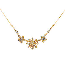 Buy Downton Abbey Collection Gold Plated Crystal Belle Epoch Starburst Necklace Online at johnlewis.com