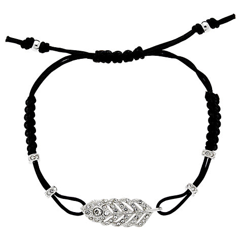 Buy Cachet London Peacock Swarovski Crystal Friendship Bracelet Online at johnlewis.com