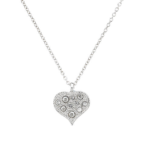 Buy Cachet London Classic Heart Swarovski Crystal Pendant Necklace Online at johnlewis.com