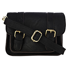 Buy Warehouse Baby Satchel, Black Online at johnlewis.com