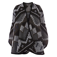 Buy Warehouse Aztec Cape, Multi Online at johnlewis.com