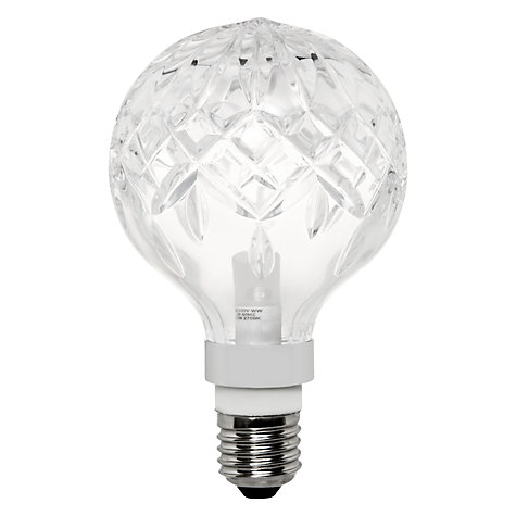 Buy Lee Broom 2W ES LED Crystal Bulb, Clear Online at johnlewis.com