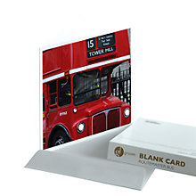 Buy Gallery One Routemaster Bus Greeting Card Online at johnlewis.com