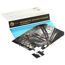 Buy Gallery One Tower Bridge Magnetic Jigsaw Greeting Card Online at johnlewis.com