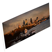 Buy Gallery One St. Paul's and St. Mary's Axe from Waterloo Bridge Postcard Online at johnlewis.com