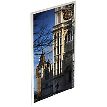 Buy Gallery One Westminster Abbey and Big Ben Large Postcard Online at johnlewis.com