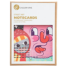 Buy Gallery One Street Art Large Notecard Greeting Cards, Box of 10 Online at johnlewis.com