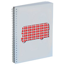 Buy Gallery One Routemaster Bus A5 Notepad Online at johnlewis.com
