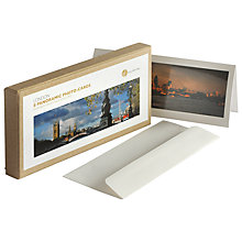 Buy Gallery One London Panoramic Photo Cards, Box of 8 Online at johnlewis.com