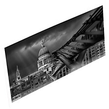 Buy Gallery One St. Paul's and Millennium Bridge Postcard Online at johnlewis.com