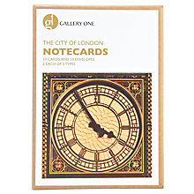 Buy Gallery One City of London Large Notecard Greeting Cards, Box of 10 Online at johnlewis.com
