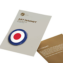 Buy Gallery One Royal Air Force Round Art Magnet Online at johnlewis.com
