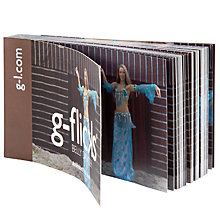 Buy Gallery One Belly Dancer Flick Book Online at johnlewis.com
