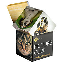 Buy Gallery One Cats & Dogs Picture Cube Game Online at johnlewis.com