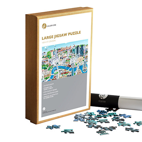Buy Gallery One View of London 120 Piece Jigsaw Puzzle Online at johnlewis.com