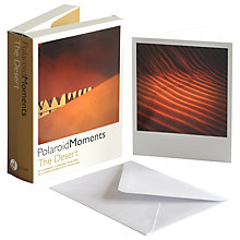 Buy Gallery One The Desert Polaroid Moments Greeting Cards, Pack of 20 Online at johnlewis.com