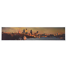 Buy Gallery One View from Waterloo Bridge World's Best View Poster, 21 x 95cm Online at johnlewis.com