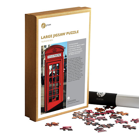 Buy Gallery One Telephone Box 207 Piece Jigsaw Puzzle Online at johnlewis.com