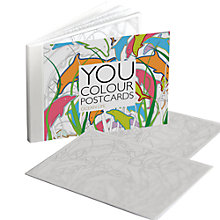 Buy Gallery One Ocean Life You Colour Greeting Card, Pack of 12 Online at johnlewis.com