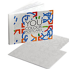 Buy Gallery One Geometric Patterns You Colour Greeting Card, Pack of 12 Online at johnlewis.com
