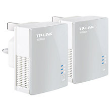 Buy TP-Link AV500 Nano Powerline Adapter Starter Kit Online at johnlewis.com