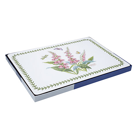 Buy Pimpernel Botanic Blue Large Placemats, Set of 4 Online at johnlewis.com