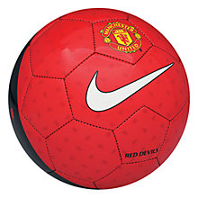 Buy Nike Manchester United Supporters Football Online at johnlewis.com