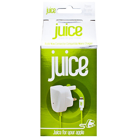 Buy Juice Apple Lightning Mains Charger for Apple Lightning Devices Online at johnlewis.com
