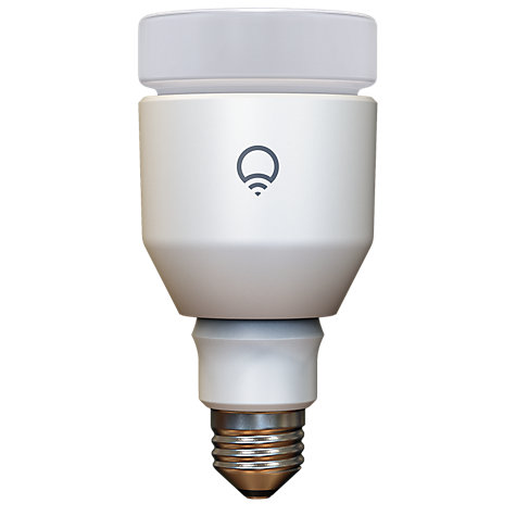 Buy LIFX 17W ES Wi-Fi LED Intelligent Light Bulb, Multi Online at johnlewis.com