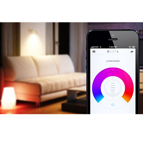 Buy LIFX 17W BC Wi-Fi LED Intelligent Light Bulb, Multi Online at johnlewis.com