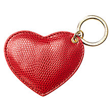 Buy Aspinal of London Heart Keyring Online at johnlewis.com