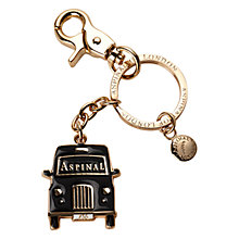 Buy Aspinal of London Taxi Key Ring, Black Online at johnlewis.com