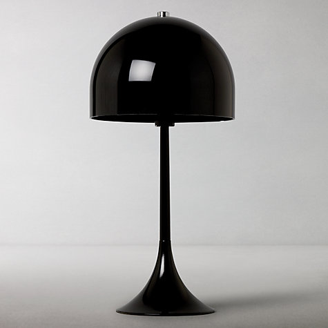 Buy House by John Lewis Viola Dome Table Lamp, Black Online at johnlewis.com