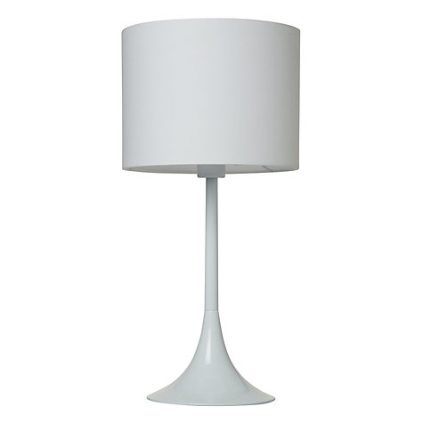 Buy House by John Lewis Viola Table Lamp, White Online at johnlewis.com