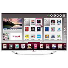 "Buy LG 47LA740V LED HD 1080p 3D Smart TV, 47"" with Freeview HD and 4x 3D Glasses Online at johnlewis.com"