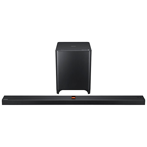 Buy Samsung HW-F850 2.1 Bluetooth Valve Amp Sound Bar with Wireless Subwoofer Online at johnlewis.com