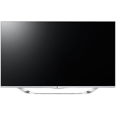 "Buy LG 55LA740V LED HD 1080p 3D Smart TV, 55"" with Freeview HD and 4x 3D Glasses Online at johnlewis.com"