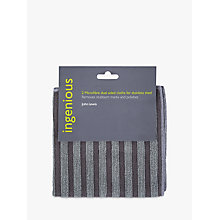 Buy John Lewis Ingenious Microfibre Stainless Steel Cloth Online at johnlewis.com