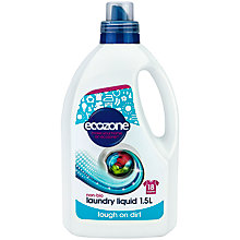 Buy Ecozone Laundry Liquid, 1.5L Online at johnlewis.com