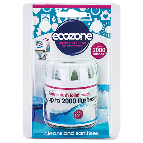 Buy Ecozone Forever Flush Toilet Block, 70g Online at johnlewis.com
