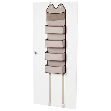 Buy neatfreak closetMAX Greystone Over the Door Basket Organiser Online at johnlewis.com