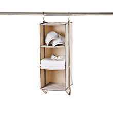 Buy neatfreak closetMAX Greystone Collection 3 Shelf Organiser Online at johnlewis.com